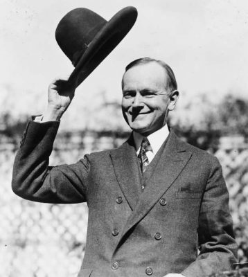 Coolidge_after_signing_indian_treaty
