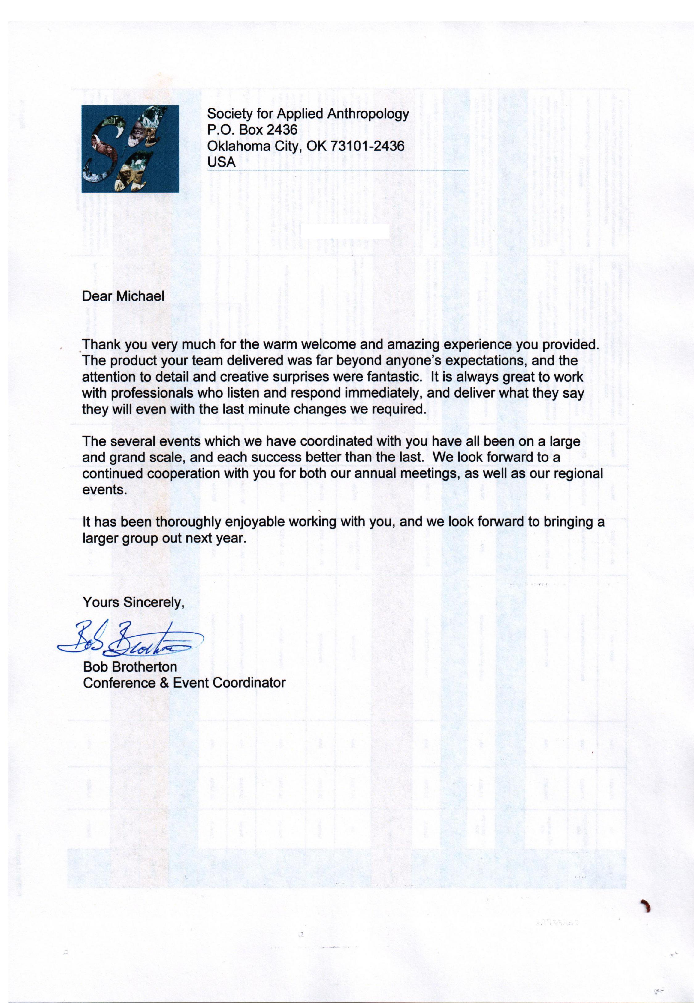 1 PE - SAA letter